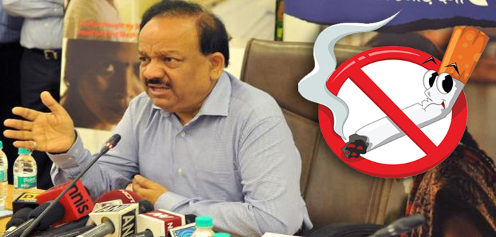 Union Minister for Health and Family Welfare Dr. Harsh Vardhan at the launch of the Public Service Advertisement titled `SUNITA` and the `Resource Website` under the National Tobacco Control Programme (NTCP) in New Delhi on Aug 7, 2014. (Photo: IANS/PIB)