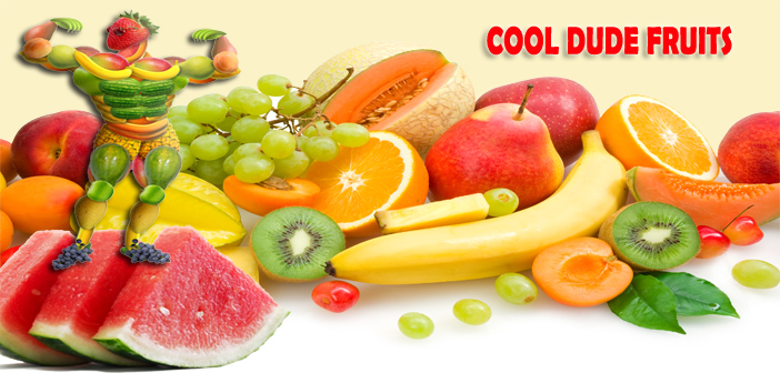 cool dude fruits