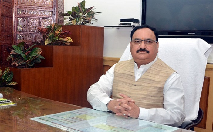 Shri Jagat Prakash Nadda takes charge as the Union Minister for Health and Family Welfare, in New Delhi on November 10, 2014.